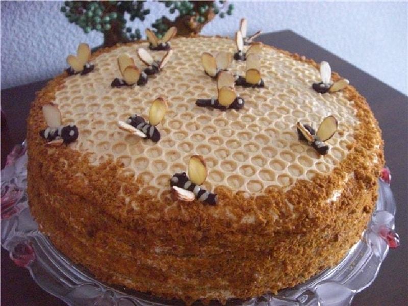 Торт пчелка рецепт с фото