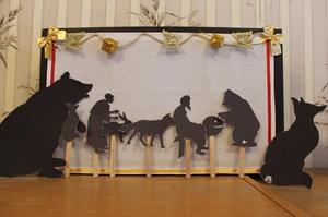 Создание декораций для создания театра теней