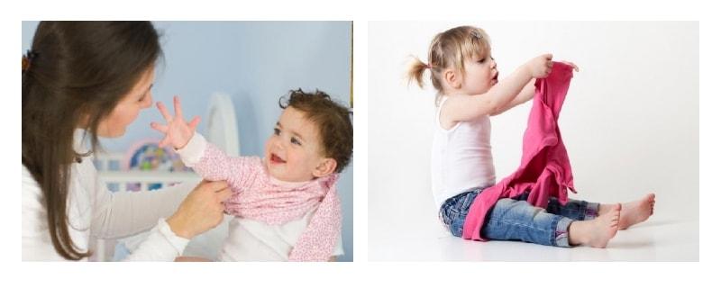 как одеваются маленькие дети