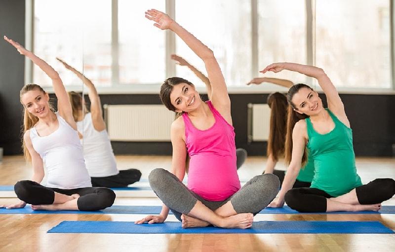 занятия для беременных для расслабления