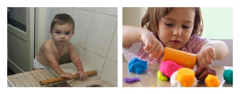 трехлетние дети любят помогать
