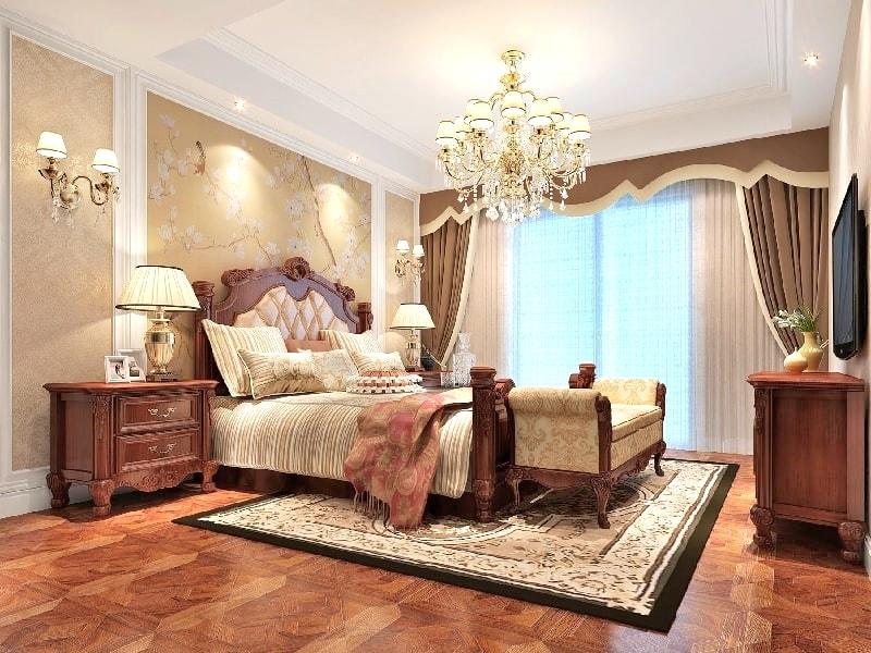 планируете картинки спальни в классическом стиле поселке