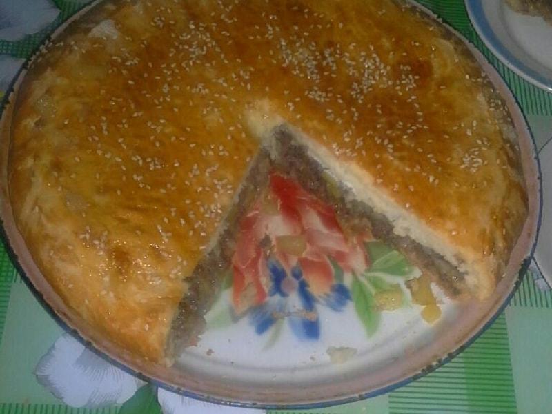 куринный пирог