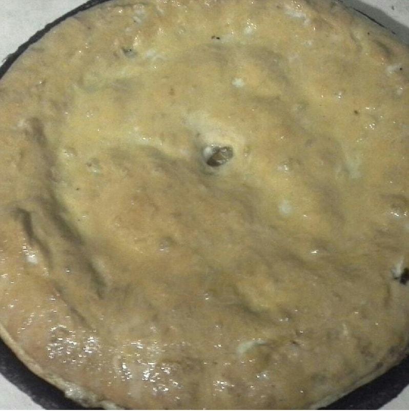 выпечка курника в духовке