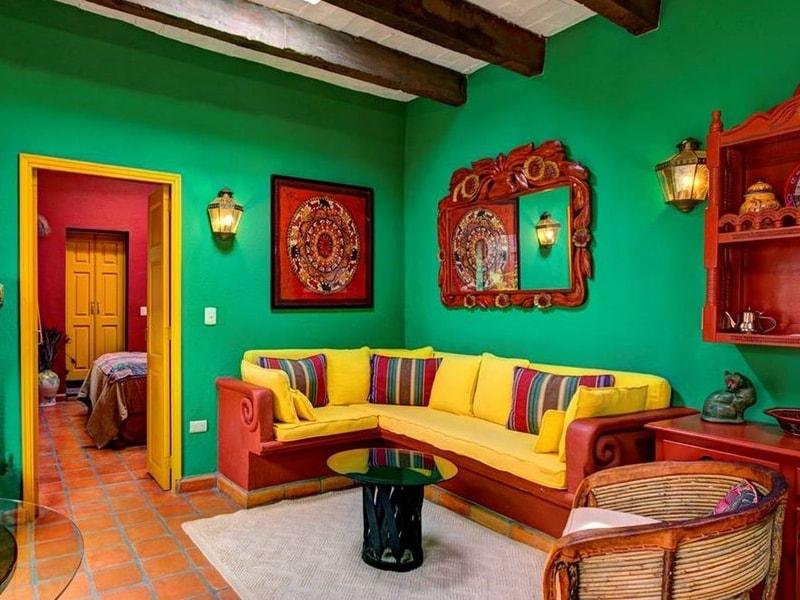 интерьер в мексиканском стиле фото