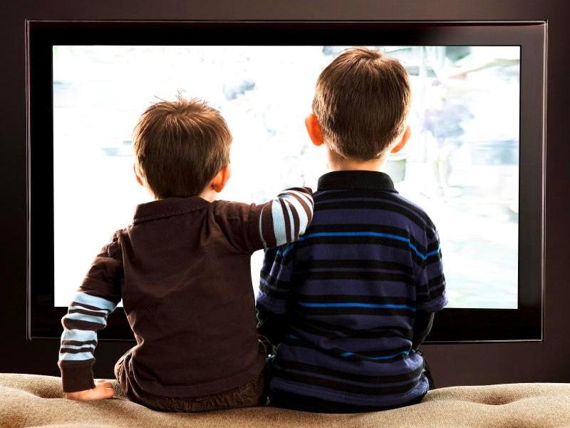 вреден телевизор детям