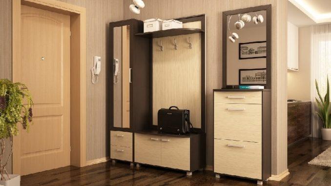 прихожие в коридор фото мебель