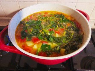 чечевичный суп рецепт вегетарианский