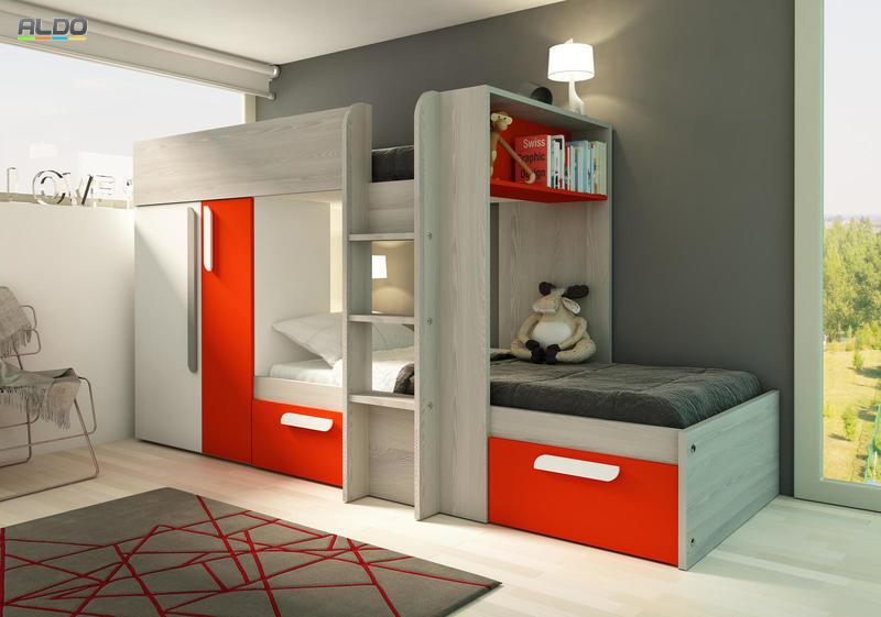 детская мебель для маленькой комнаты фото