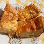 Кабачковая запеканка в духовке с сыром и укропом