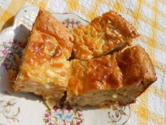 запеканка из кабачков в духовке с сыром и укропом
