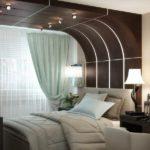 Какой потолок лучше сделать в спальне: фото и описание
