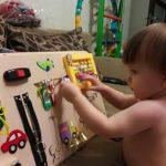 Полезные идеи как сделать бизиборд для ребенка