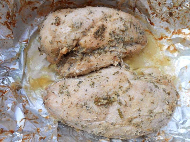 Рецепт куриной грудки в духовке