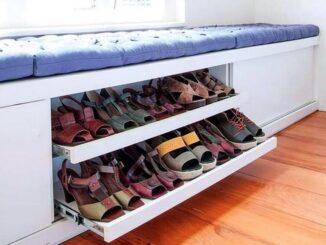 где хранить обувь в маленькой квартире