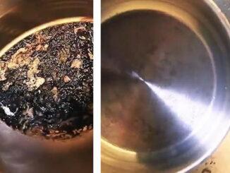 пригорела кастрюля как очистить в домашних условиях