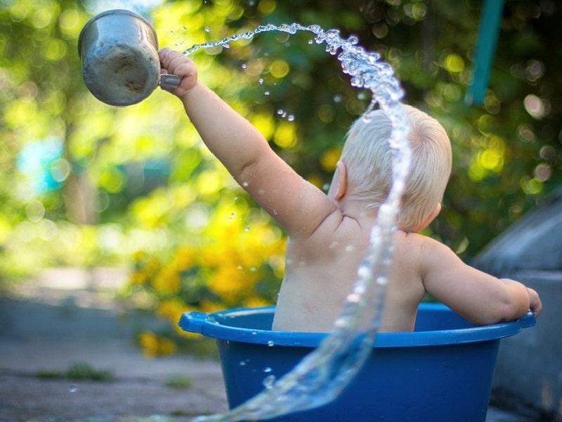 игры с ребенком в ванне
