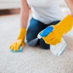 Чистка паласа от грязи в домашних условиях