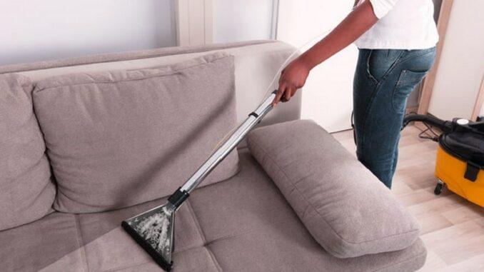 как почистить диван в домашних условиях