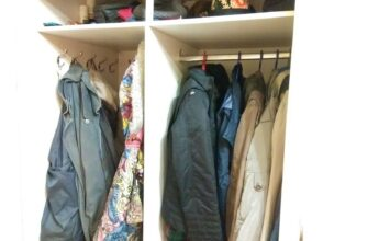 13 идей хранения ношеной одежды