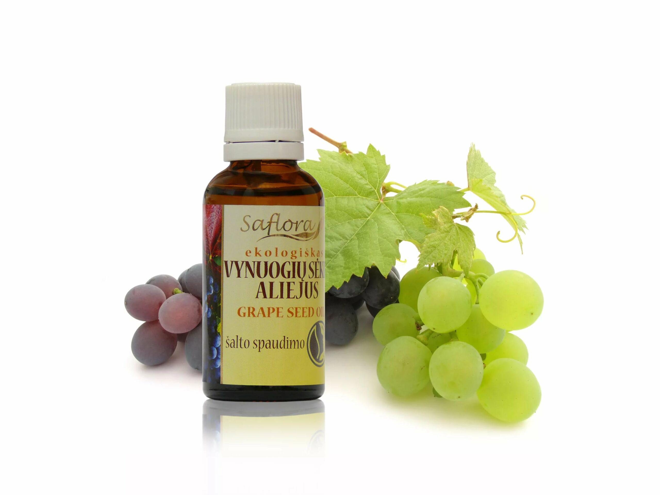 масло виноградное свойства и применение
