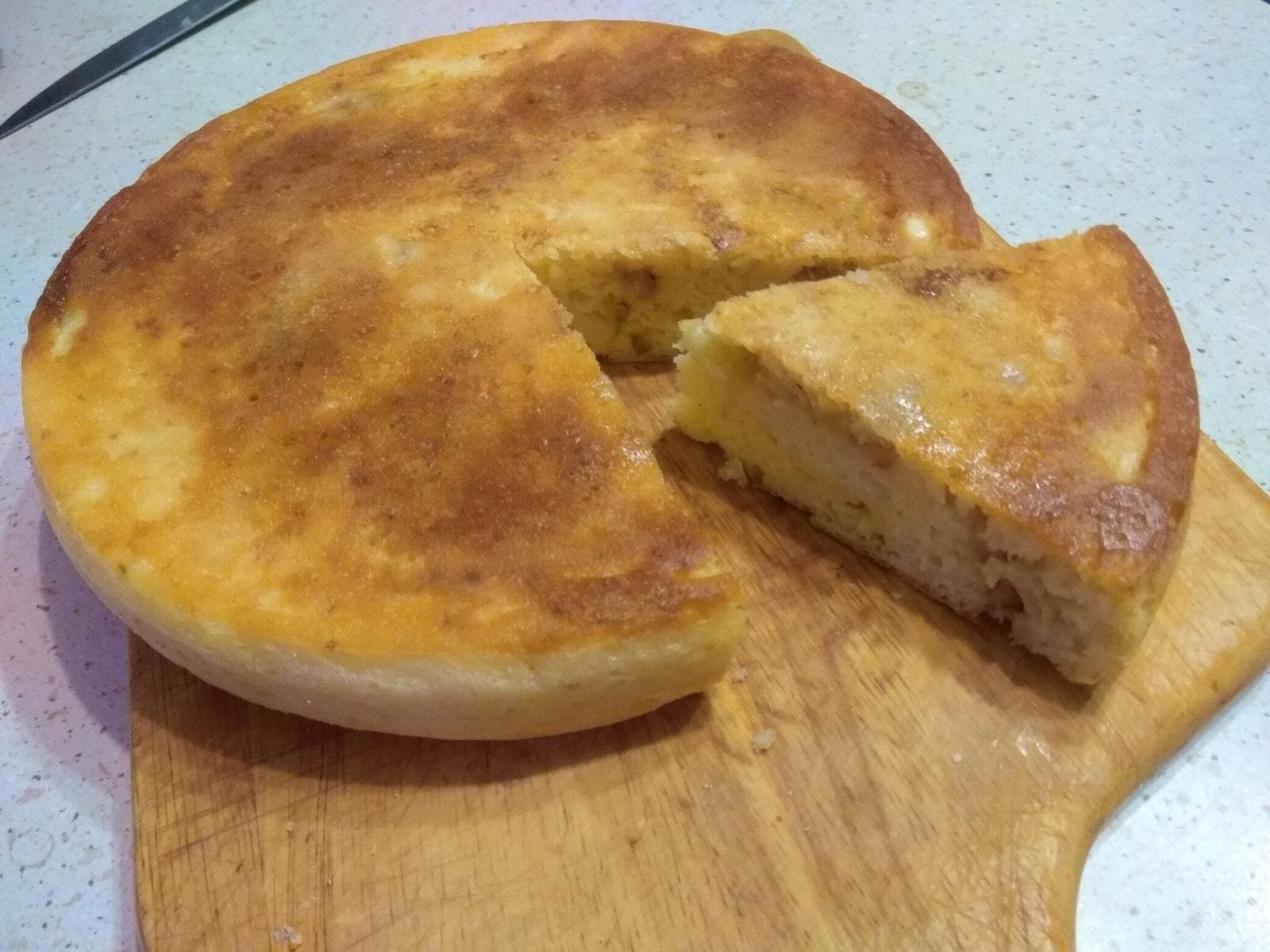 пошаговый рецепт заливного пирога с капустой