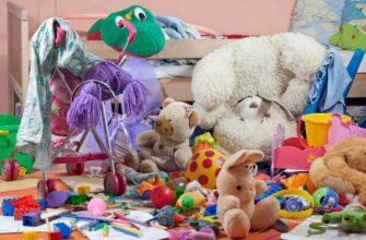 Слишком много игрушек у ребенка