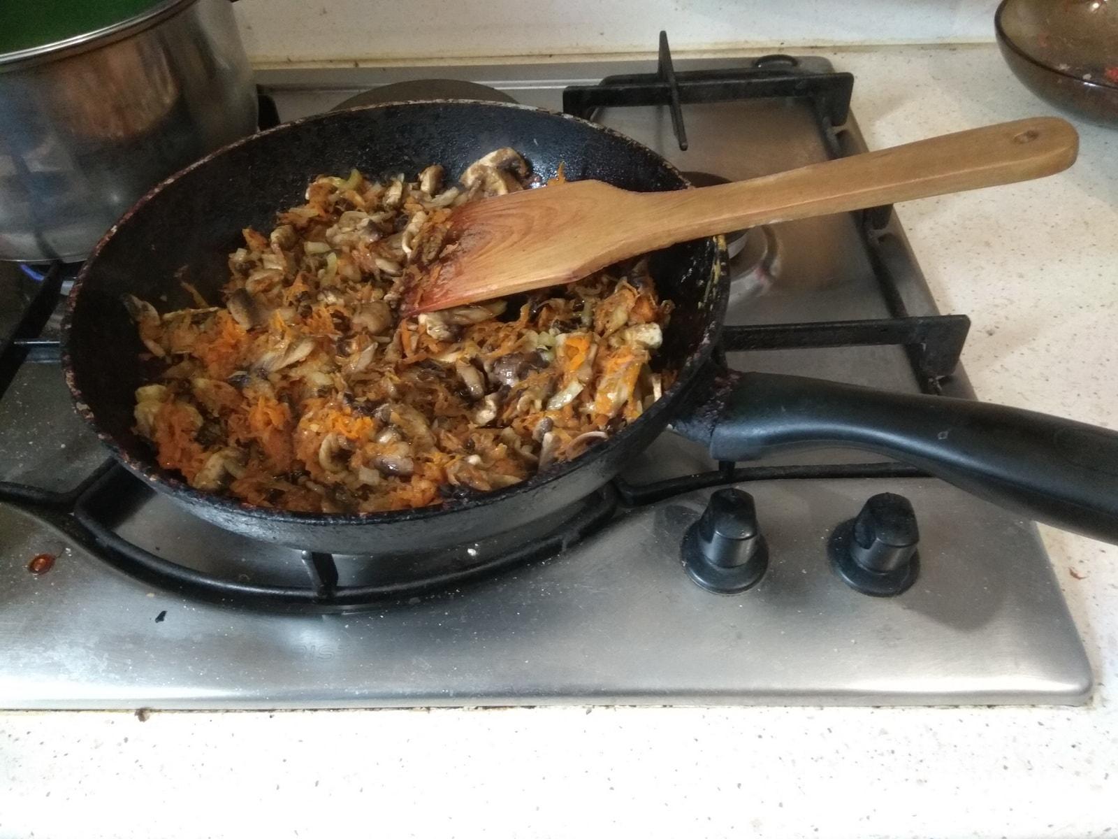 заправка сливочно-грибного супа