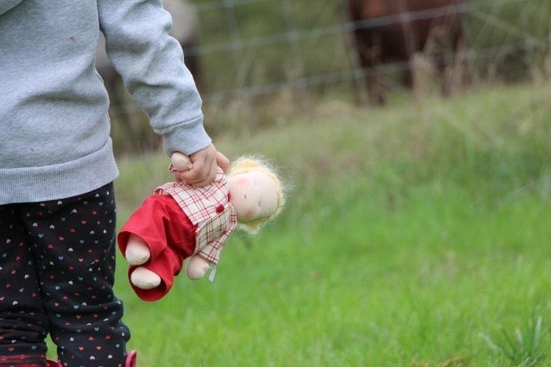 стереотип воспитания - куклы яко бы только для девочек